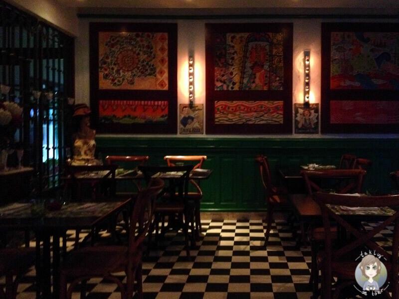 Das Restaurant 'Trigo Latino' in Lissabon