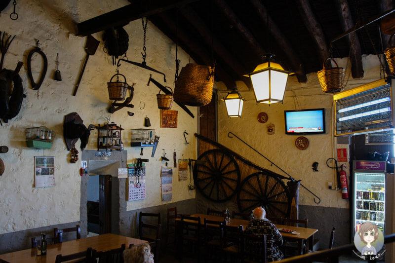Das Restaurante Es Verger, Alaró, Mallorca