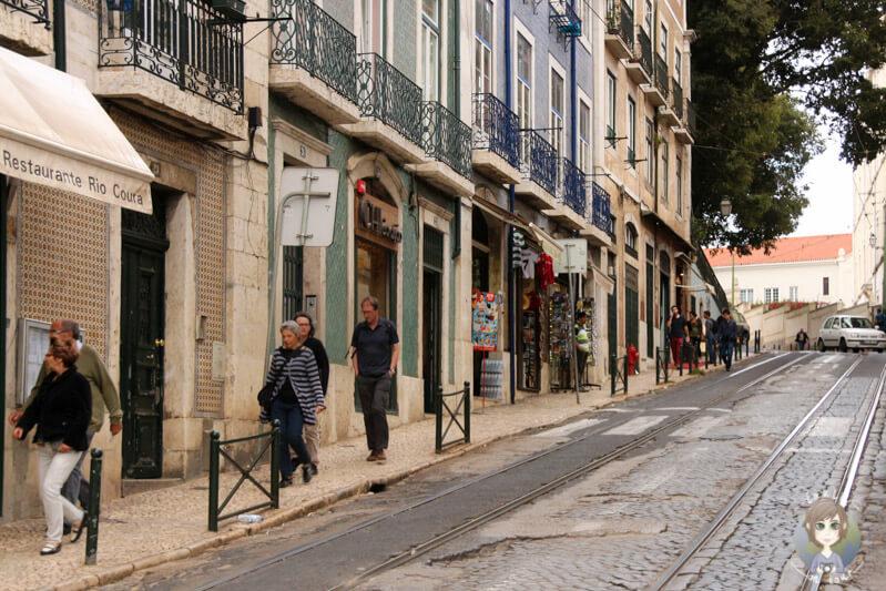 Rua Augusto Rosa in Lissabon