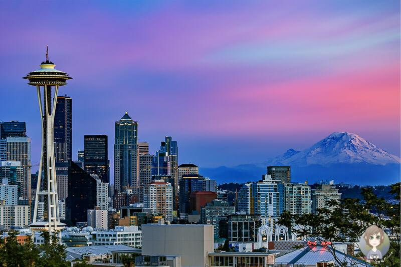 Blick von Kerry Park auf Seattle - COPYRIGHT Christian Skalic taklyontour.de