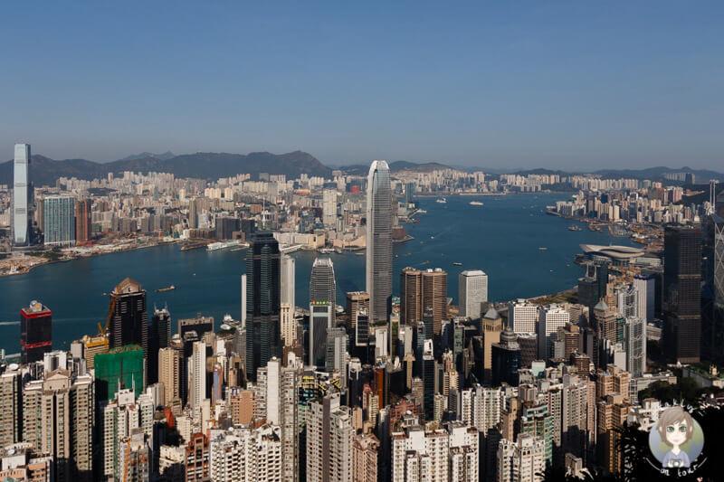 Der schönste Blick auf Hongkong