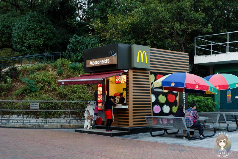 Der kleinste Mc Donalds in Hong Kong