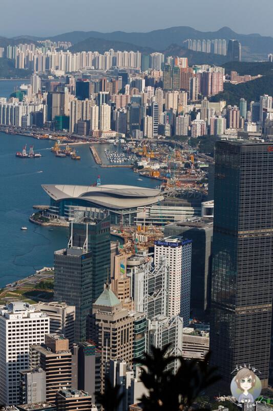 Skyline von Hong Kong vom Peak