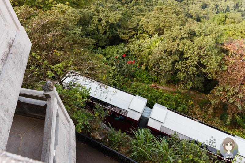 Die Peak Tram Hong Kong