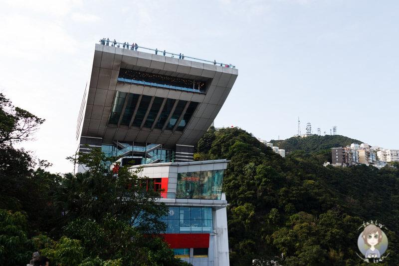 Die Sky Terrace 428 auf dem Peak Tower Hong Kong
