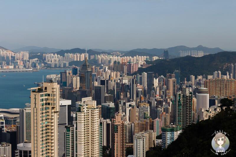 Die beste Sicht auf Hong Kong vom Victoria Peak