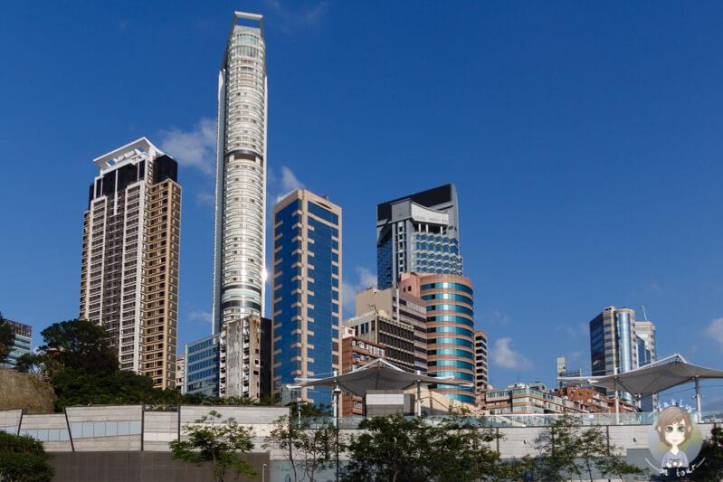 Tower in Kowloon, Hong Kong