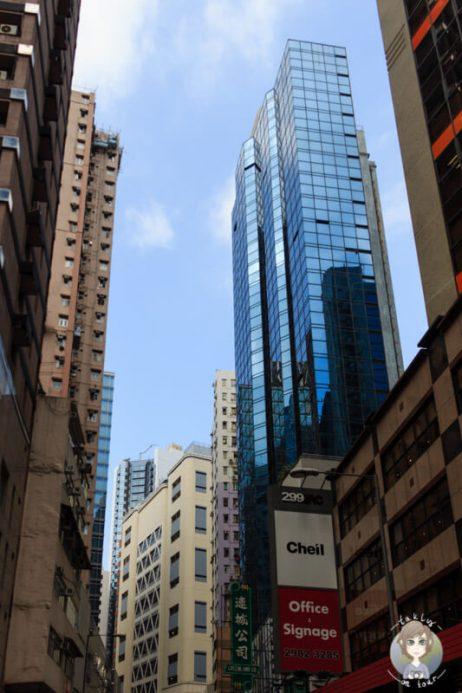 Kontraste in Hongkong