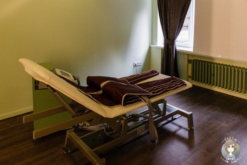 Slimyonik Behandlungsraum bei Myssage in Koeln