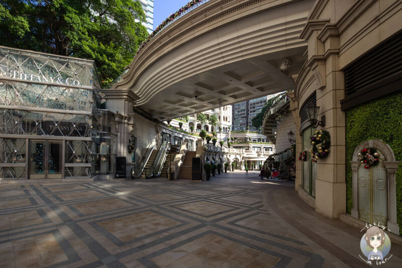 Tiffany und Co in Kowloon, Hongkong