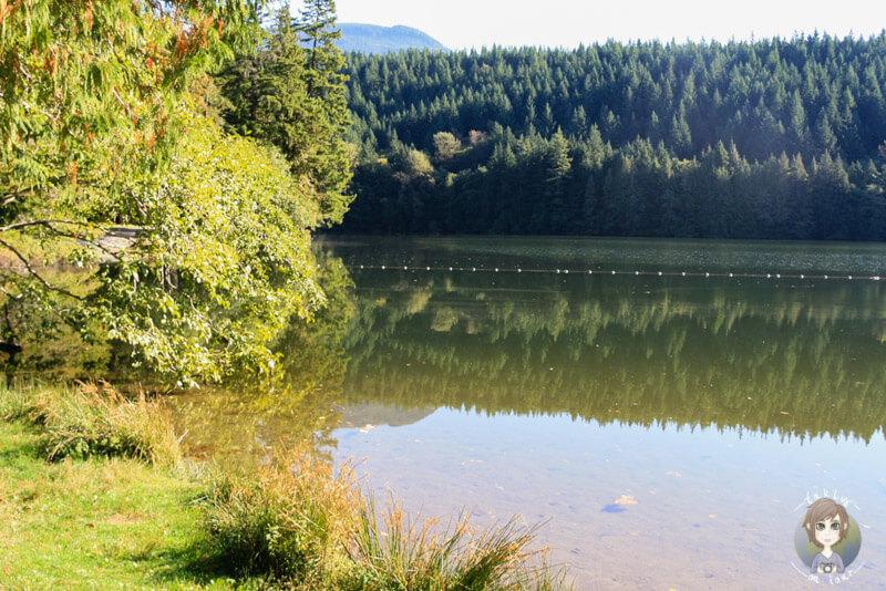 Der wunderschöne Alice Lake in BC, Kanada