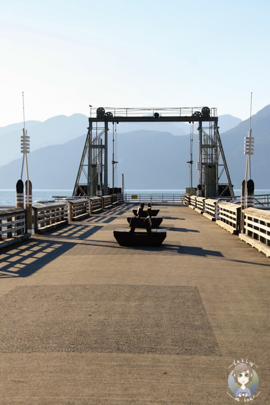 Anleger am Howe Sound, BC