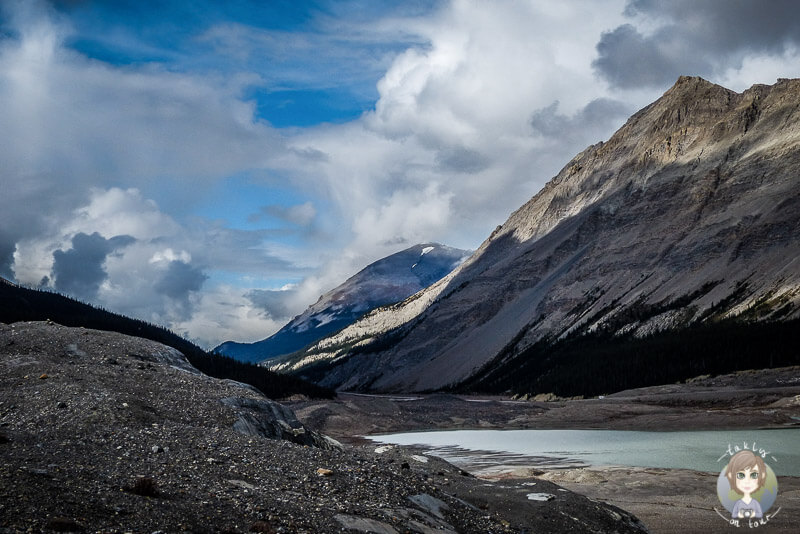 Athabasca Glacier, Icefields Parkway, Kanada