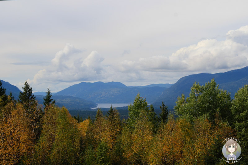 Aussicht vom Green Mountain, Wells Gray Park, BC