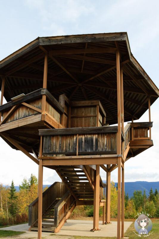 Aussichtsplattform auf dem Green Mountain, Wells Gray Provincial Park, Kanada
