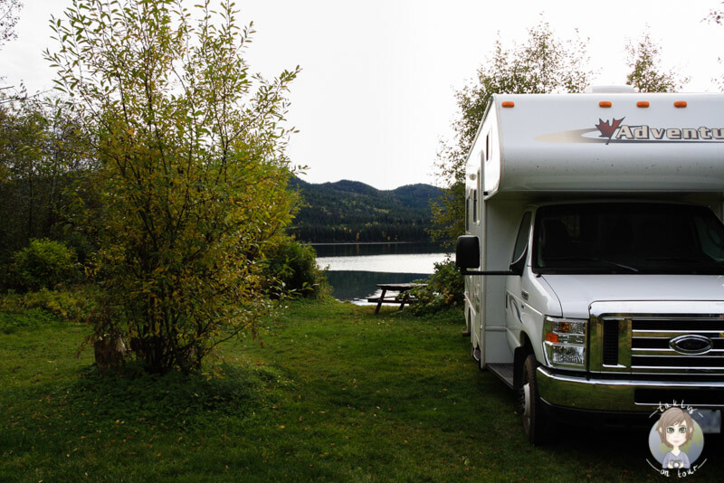 Birch Lake Campground, BC, Kanada