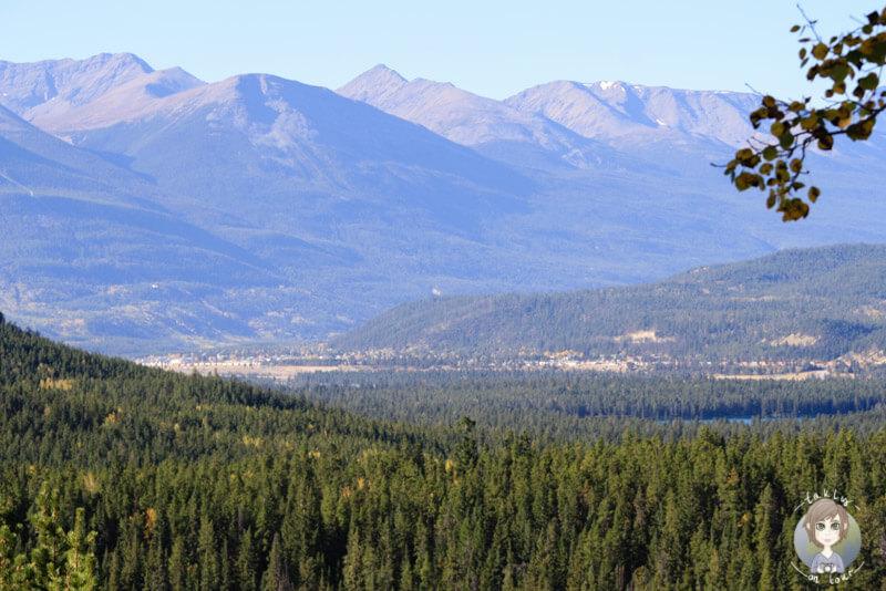 Viewpoint in Jasper, Canada