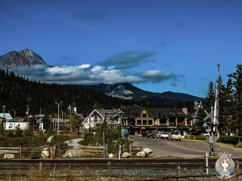 Blick auf Jasper, Kanada