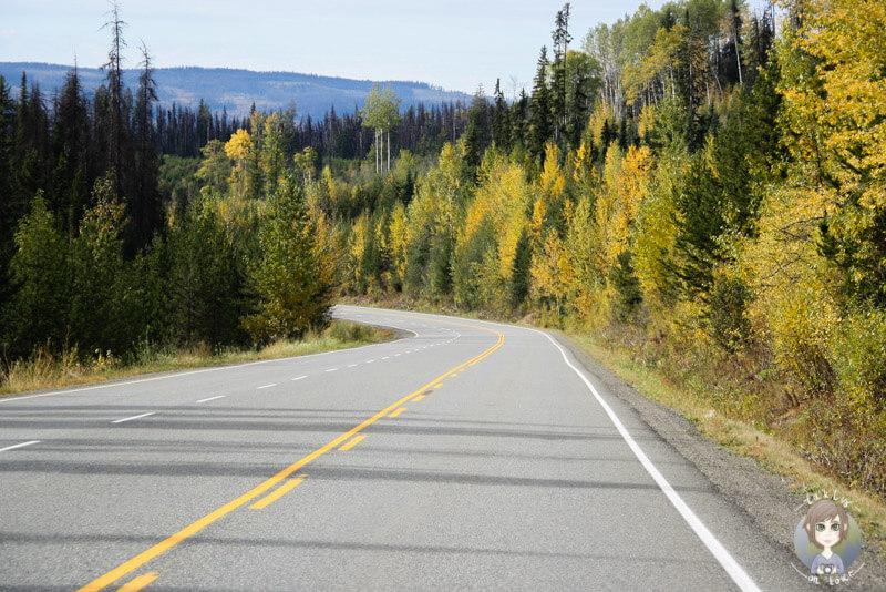 Die schöne Herbstlandschaft von British Columbia, Kanada