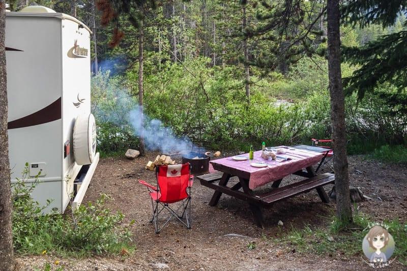 Camping Regeln beim Grillen