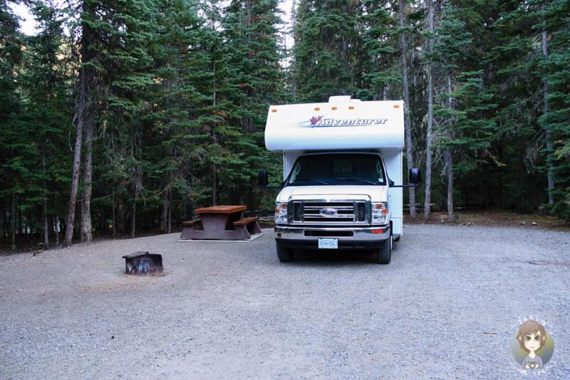 Lightning Lake Campingplatz, Manning Provincial Park, Kanada
