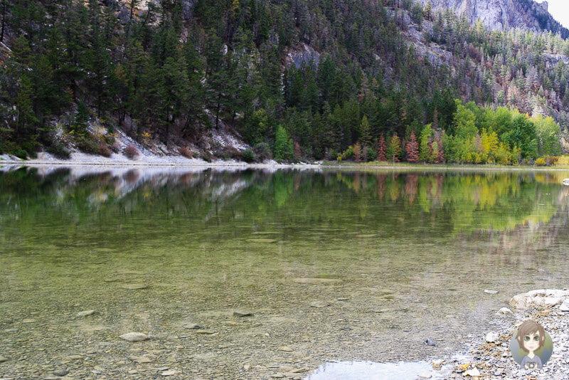 Der Crown Lake im Marble Canyon Provincial Park, BC, Kanada