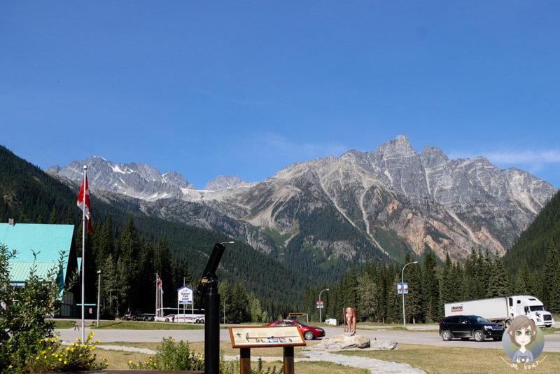 Das Discovery Centre auf dem Rogers Pass, Kanada