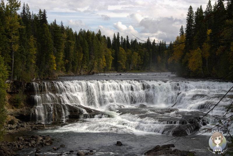 Dawson Falls, BC, Kanada