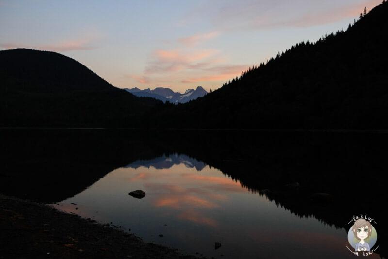 Der Hicks Lake Campground in Kanada