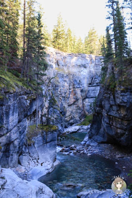 Der Maligne Canyon im Jasper National Park, Alberta