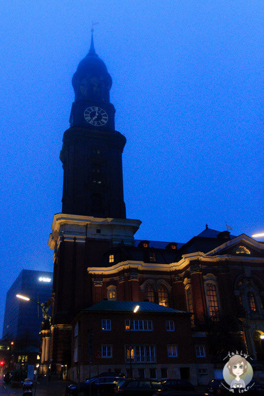 Die St. Michaelis Kirche in Hamburg