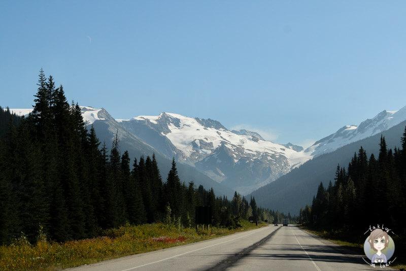 Der TCH führt über den Rogers Pass, Kanada
