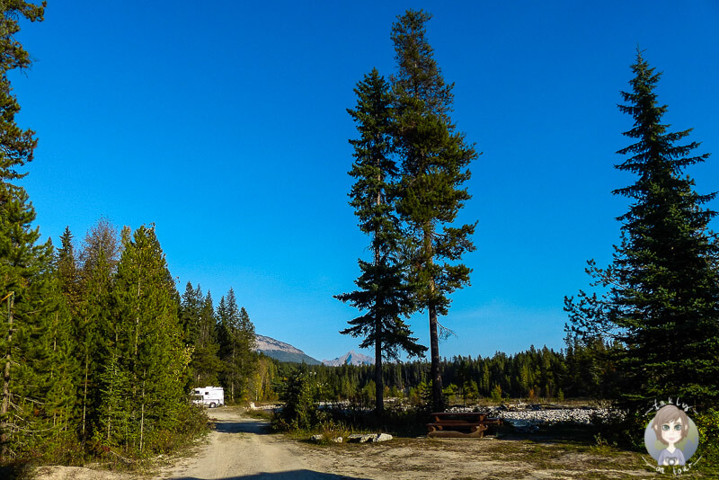 Der Waitbait Creek Campground, BC
