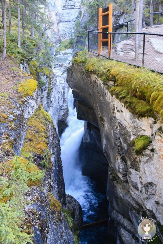 Der beeindruckende Maligne Canyon im Jasper National Park, Kanada