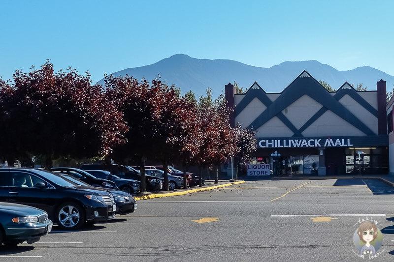 Die Chilliwack Mall, BC, Kanada