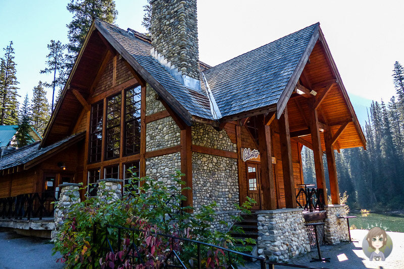 Die Emerald Lake Lodge, Kanada