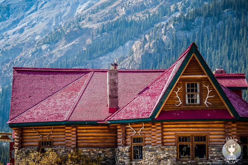Die Num-Ti-Jah Lodge, Icefields Parkway, Kanada