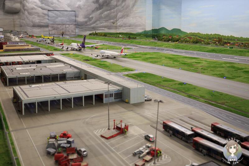 Die Startbahn des Airport Knuffingen im Miniatur Wunderland