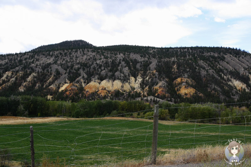 Die abwechslungsreiche Landschaft in der Cariboo Region, Kanada