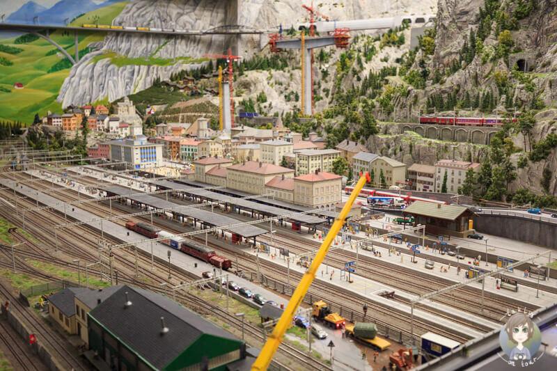 Die Welt der Modelleisenbahnen in Hamburg, Tessin, Schweiz
