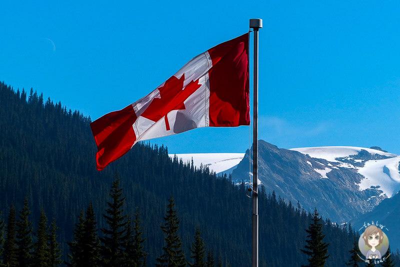 Die Flagge von Kanada