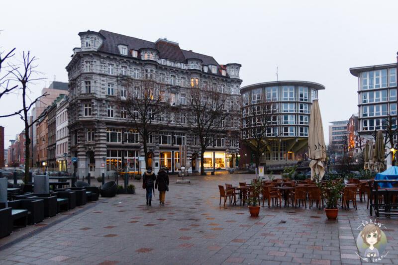 Ein schöner Platz in Hamburg