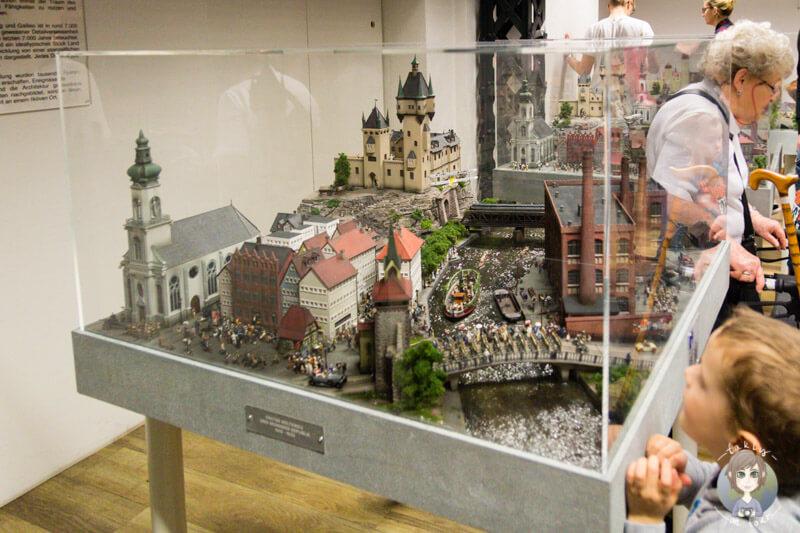Ein Spaß für Kinder im Miniatur Wunderland, Hamburg