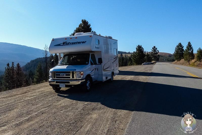 Eine Fahrt mit dem Wohnmobil in Kanada