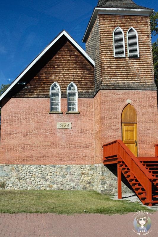 Eine Kirche in Jasper, Kanada