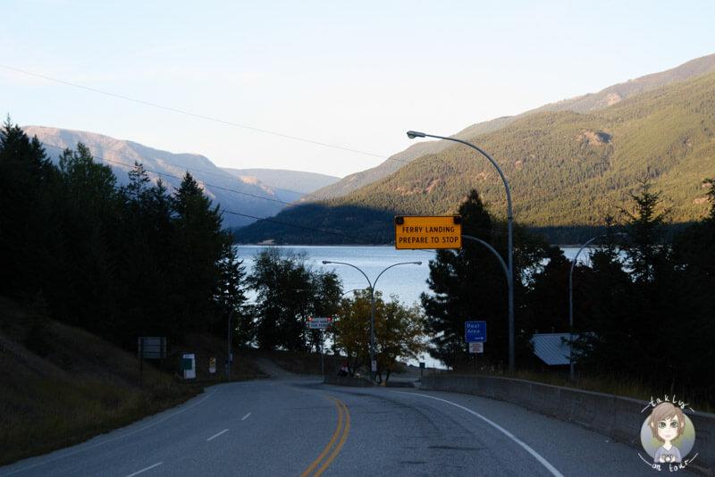 Fähre von Needles bis Fauquier, Kanada