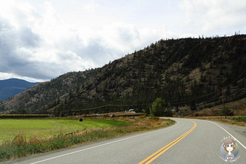 Fahrt über den Highway99, British Columbia
