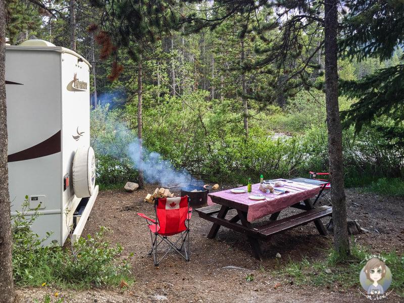 Das richtiges Verhalten auf dem Campingplatz beim Grillen