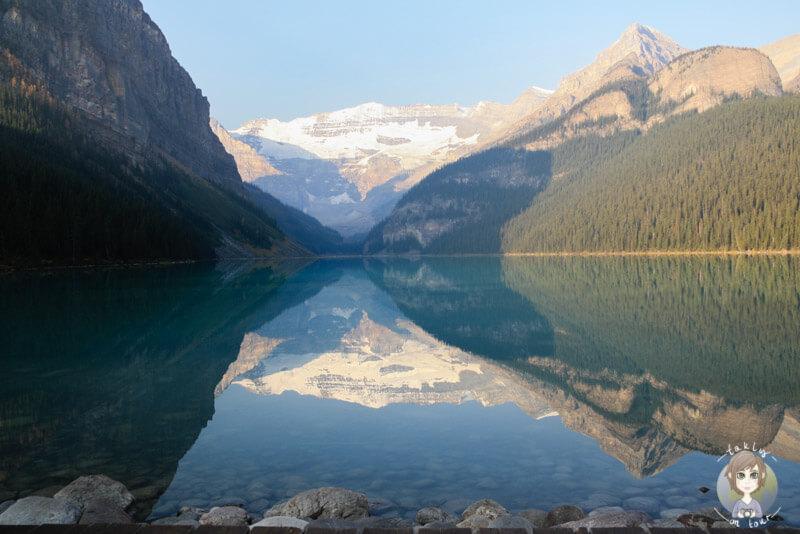 Der Lake Louise im Banff Nationalpark, Alberta, Kanada