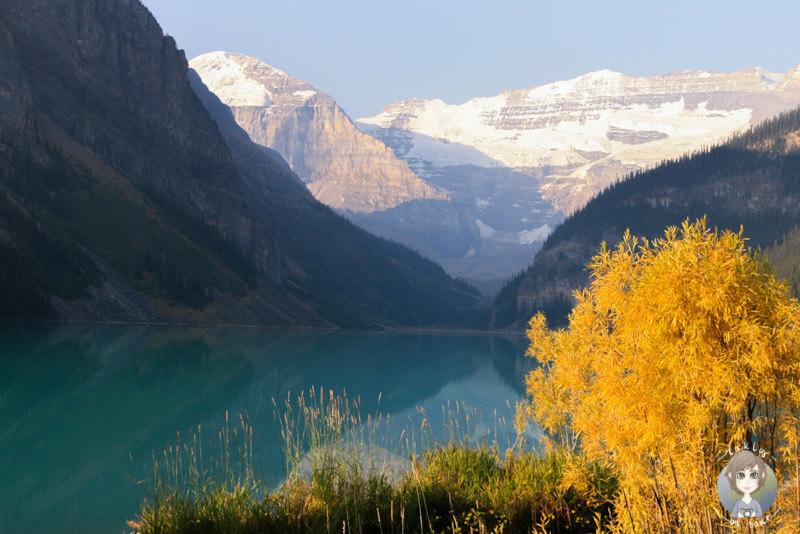 Der Lake Louise im Herbst